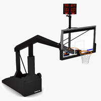 basketball basket 3d 3ds