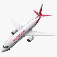 3d boeing 737-400