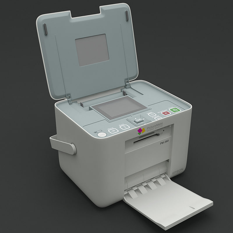 3ds max printer epson picturemate pm260