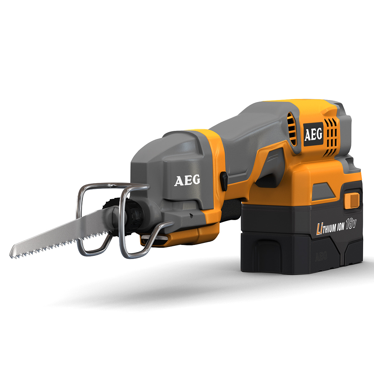 3d c4d mini reciprocating saw aeg