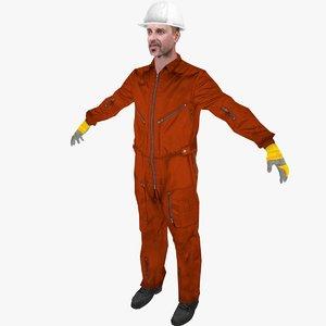 3d offshore worker