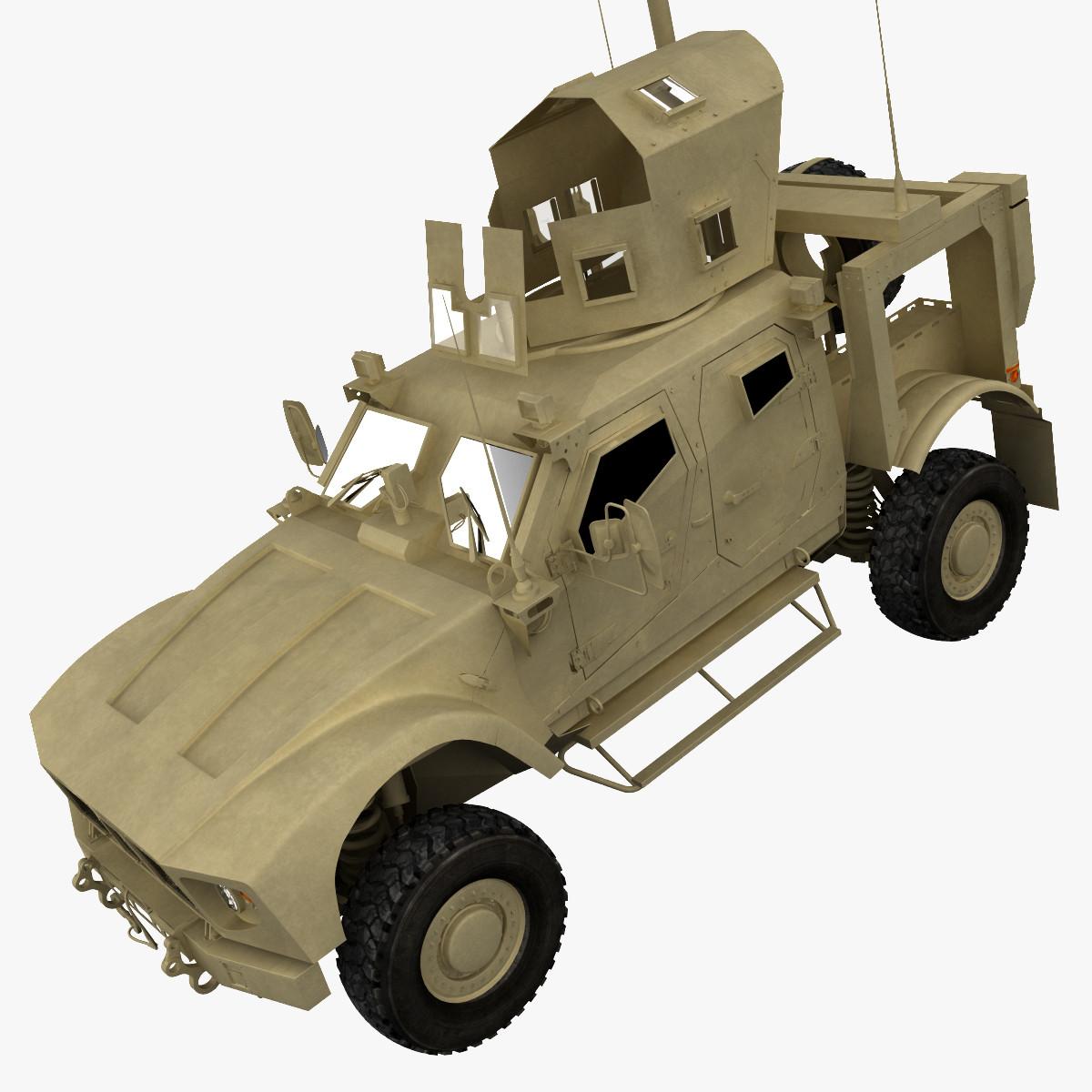 3d model oshkosh m-atv v2