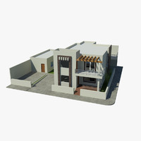 house dwell home 3d max