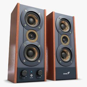 3ds music speakers genius