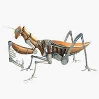 3ds max steampunk mantis