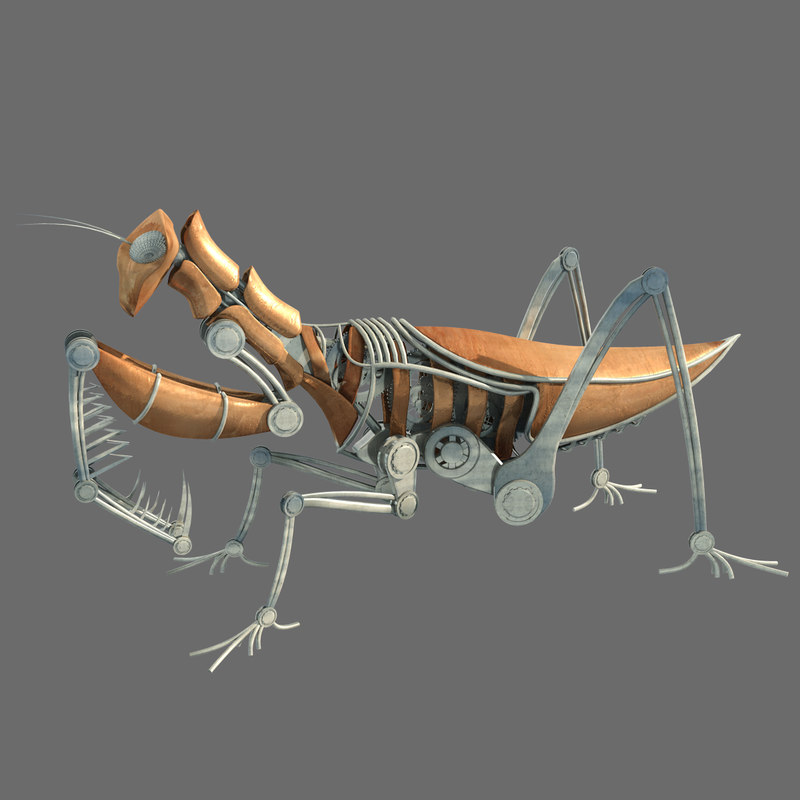 3ds max steampunk mantis