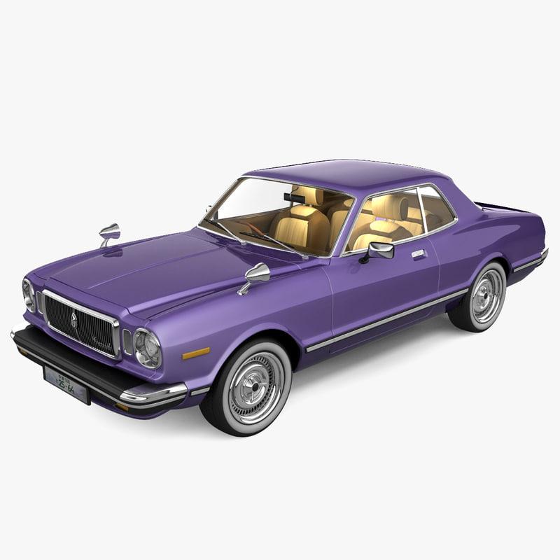 toyota corona mark ii 3d model