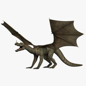 3d model dragon 2
