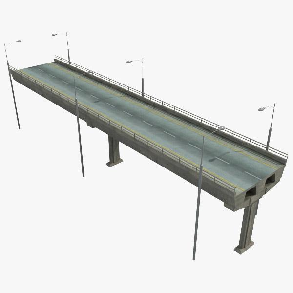 highway piece 3d max