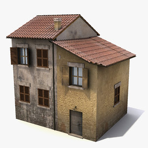 old house 3d max