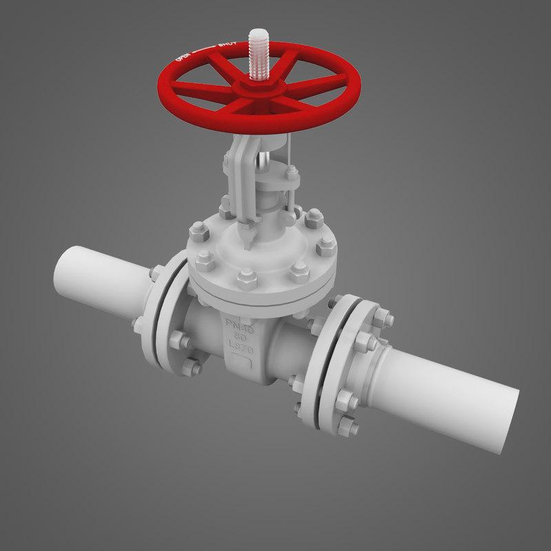 3d valve gate