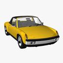 porsche 914 3D models