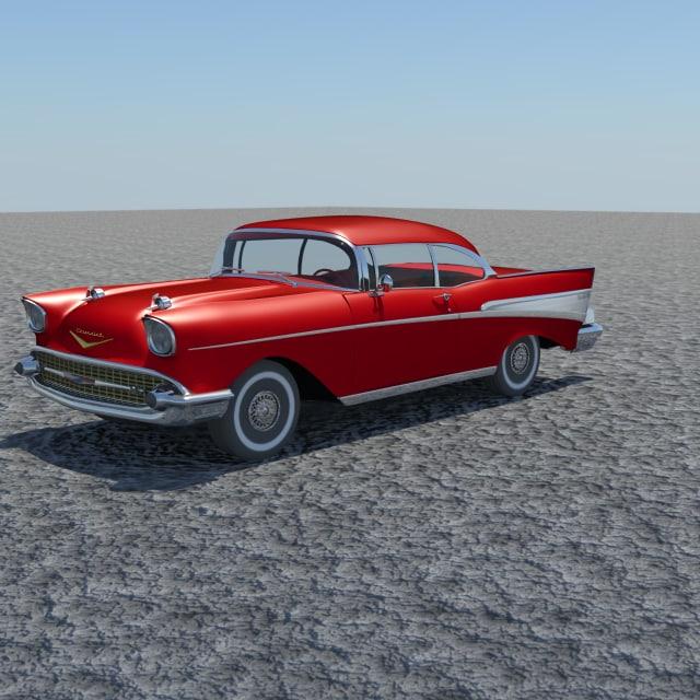 antique car obj