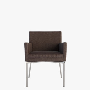 3dsmax minotti chair