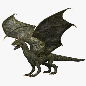 3d dragon beast monster