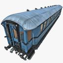 Old Passenger Train 3