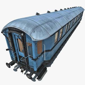 old passenger train 3 max