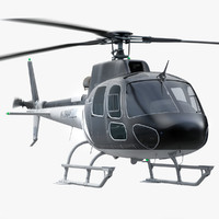 Eurocopter AS350 Private Black