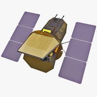 3d swift gamma-ray robotic spacecraft