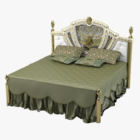 bisini bed 3d model