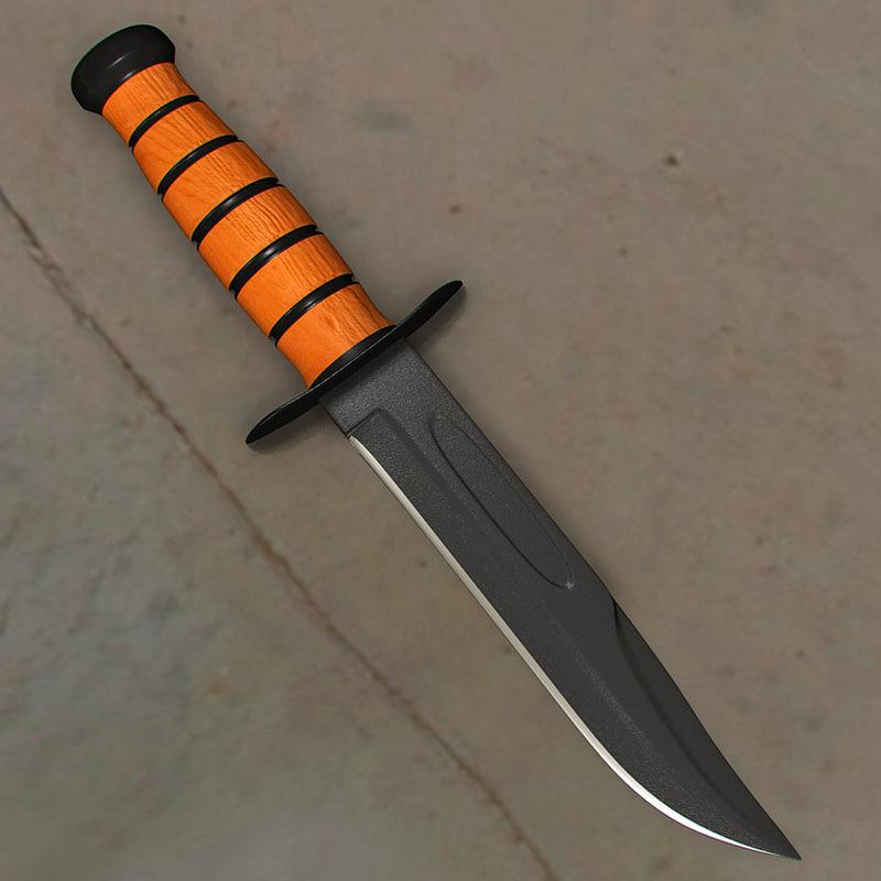 x survival knife
