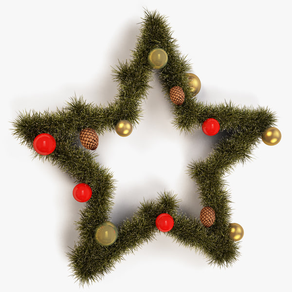 max christmas star decor