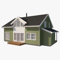 3d sans house siding