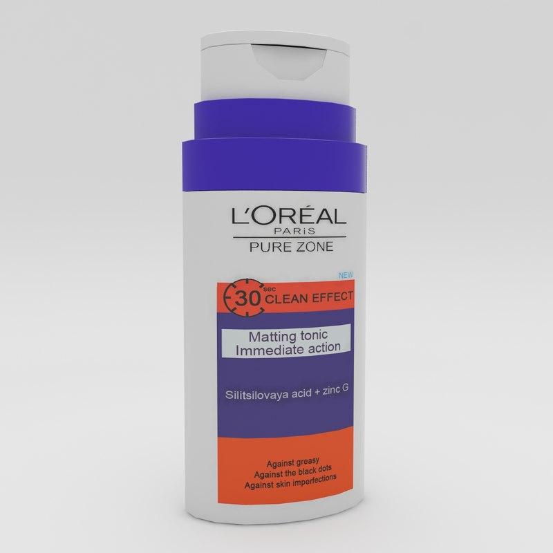 max loreal pure zone tonic