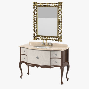 3d lineatre bathroom furniture