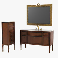 Lineatre Loira Bathroom Furniture Set