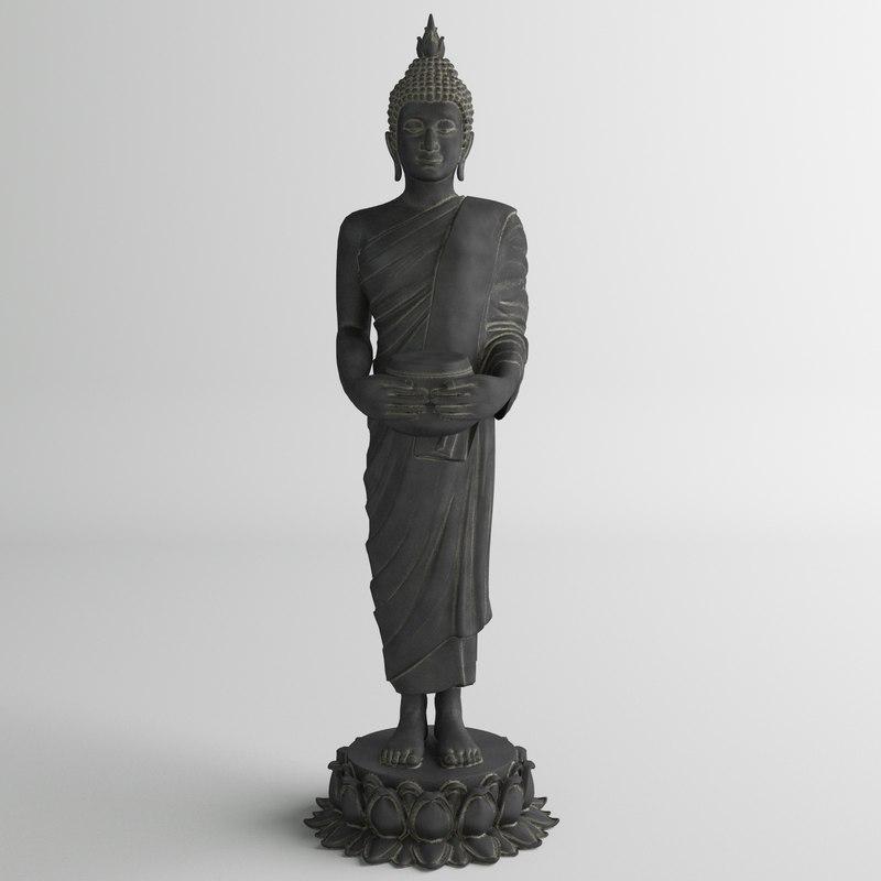 buddha human 3d 3ds