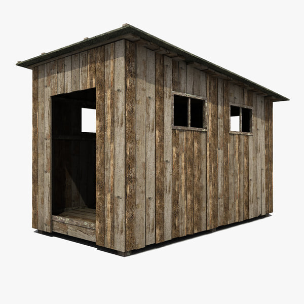 max wooden shed