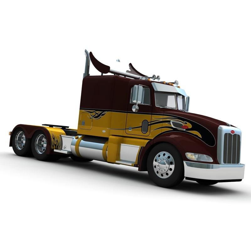 3d 386 truck sleeper model