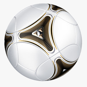 modeled soccer ball 3ds