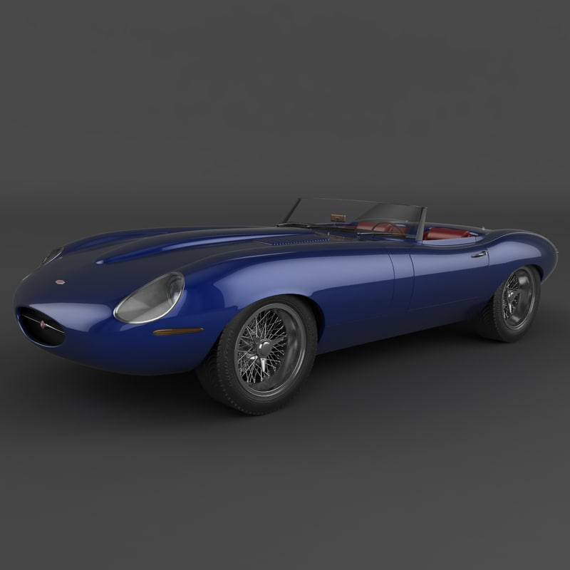e-type eagle speedster 3d model