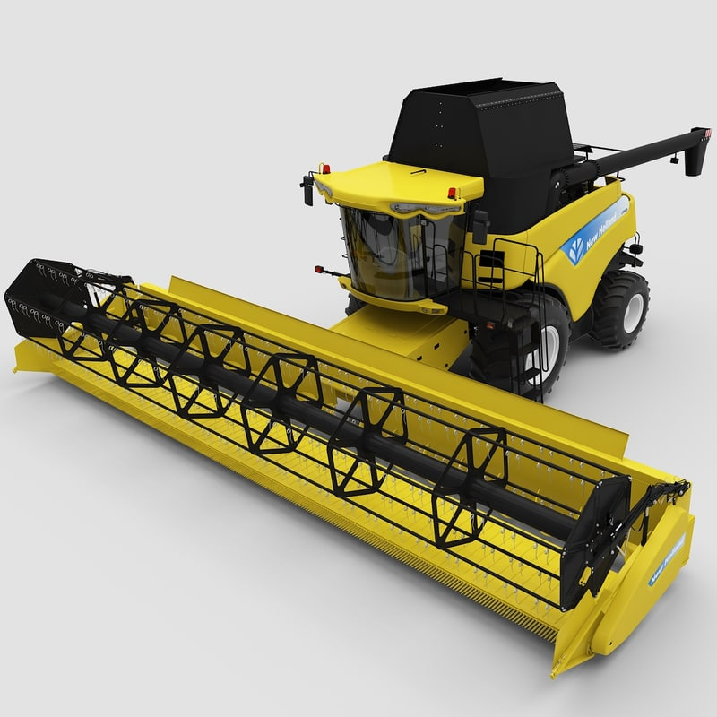 new holland cr9000 twin 3d 3ds