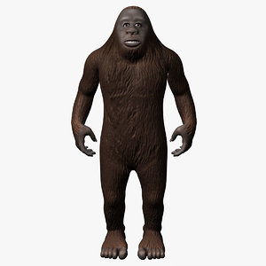 3d model bigfoot big foot