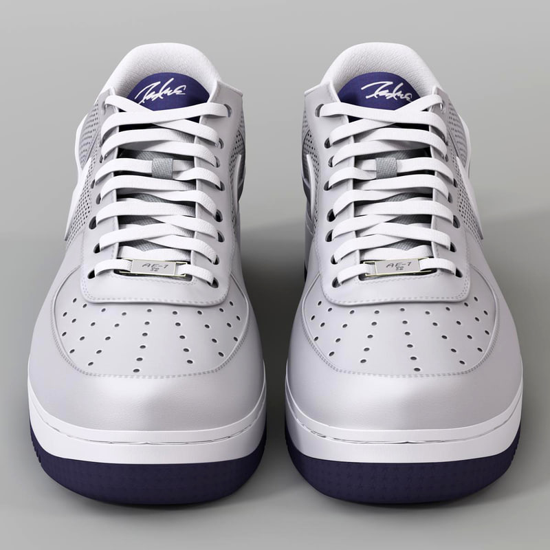 3d sneakers nike air force