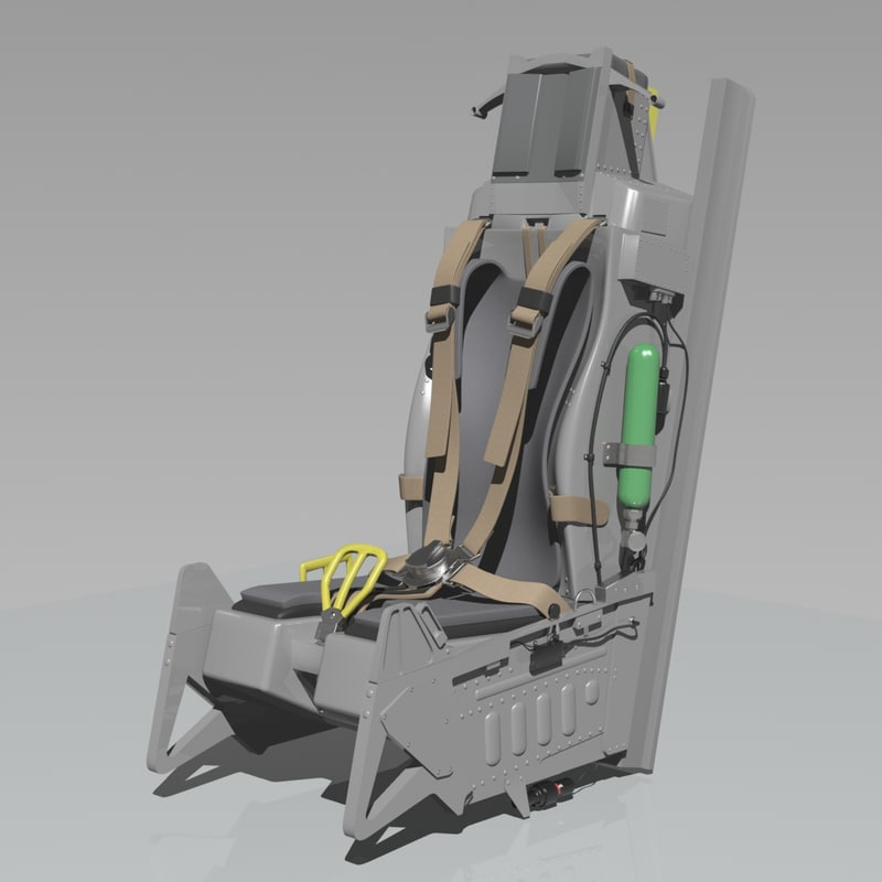 3dsmax f16 ejection seat