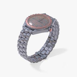 women s wrist watch obj