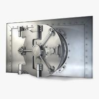 3d model bank vault