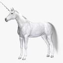 unicorn 3D models