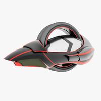 futuristic bike 3d max
