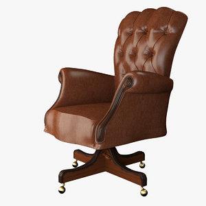 emma armchair 1241 volpi obj