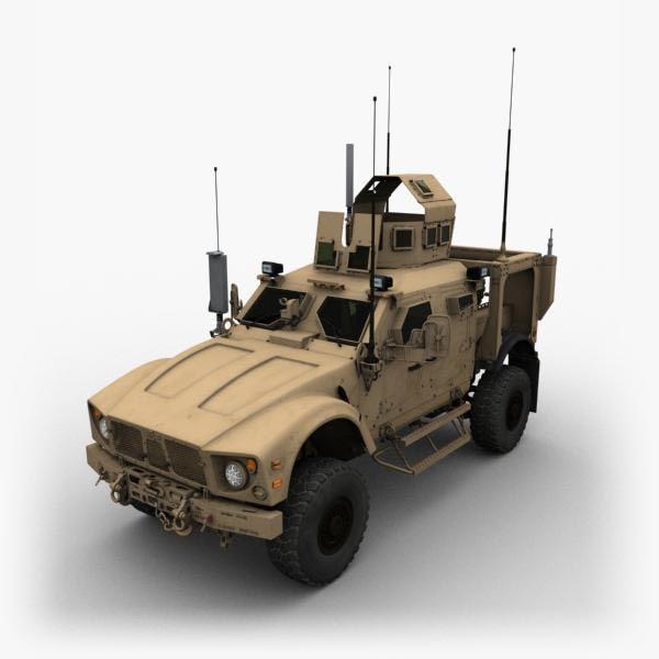 3d matv truck model