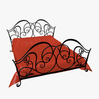 Wrought Iron Bed 3