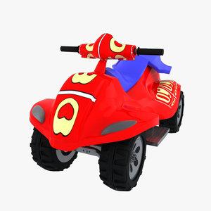 toy car obj