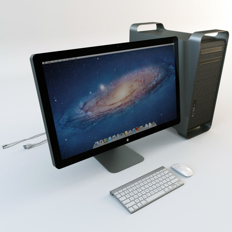 3d model apple mac pro
