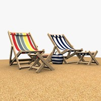 3ds beach chairs