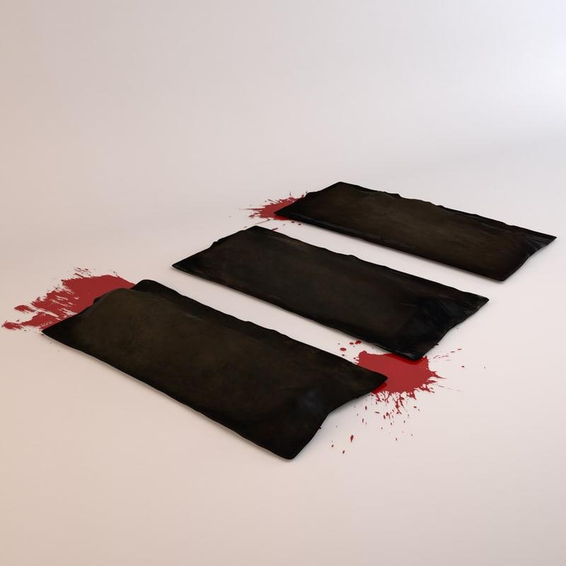 3d body bags